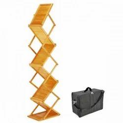 Wooden Literature Stand