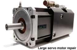 Large Servo Motor Repair