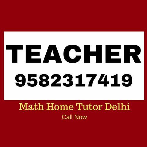 English Maths Tutoring Service, Delhi