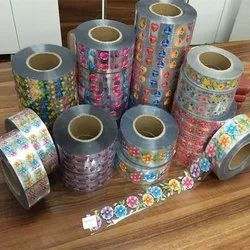 PVC Film Labels, Packaging Type: Roll