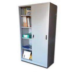 Stainless Steel Sliding File Storage Almirah, For Office, No. Of Shelves: 5 Shelves