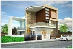 3D Elevation Exterior House
