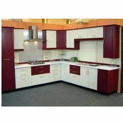 Commercial PVC Modular Kitchen