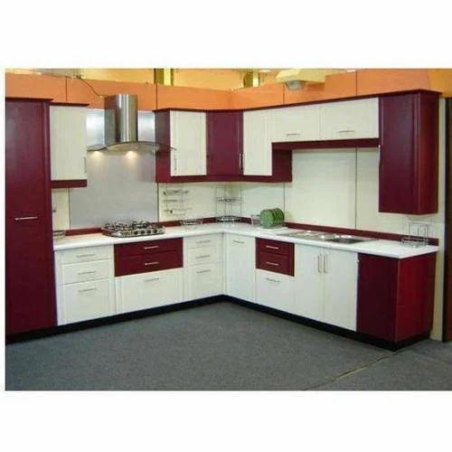 Commercial Pvc Modular Kitchen, Warranty: 1-10 Years