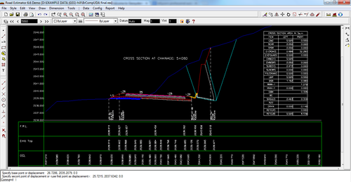Softwrae Road Estimator 9 Software, Land Survey And