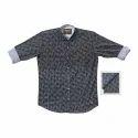Cotton Xl And Xxl Mens Fashionable Printed Shirt