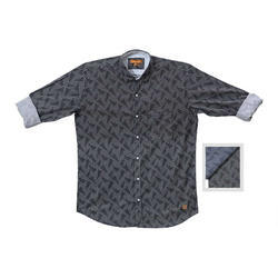 Mens Fashionable Printed Shirt