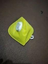 Yellow Antifog Mask