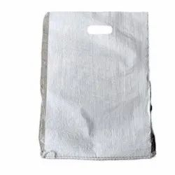 D Cut White PP Woven Carry Bag, For Packaging, Capacity: 2 - 4 Kg