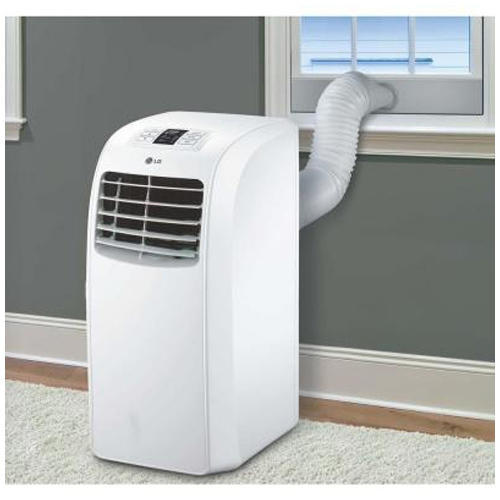 LG White Portable Air Conditioner