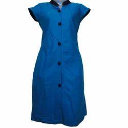 Blue Cotton Designer Ladies Kurti