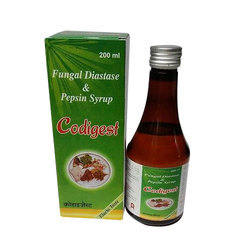 Fungal Diastase And Pepsin Syrup