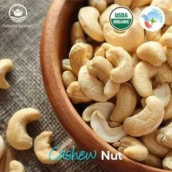 Natural Wholes Organic Cashew Nuts, Packaging Type: PP Bag