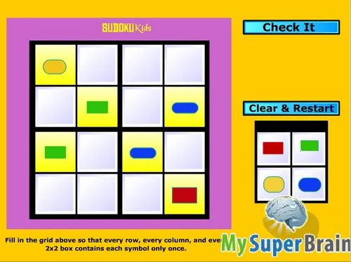 Free Sudoku Game For Kids - View Specifications & Details of