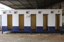 Modular Portable Toilet Cabin