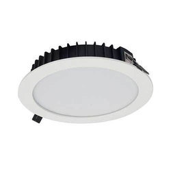 Ceramic Cool daylight 24W Round LED Downlight, IP Rating: IP20