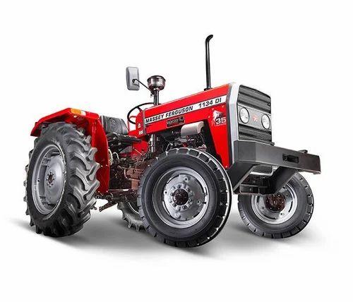 35 Hp Red MF 1134 DI Tractor, Ambika Tractor | ID: 18986994588