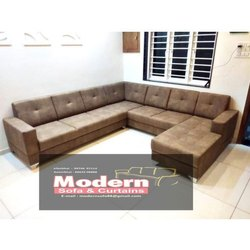 Leather Living Room Sofa Set