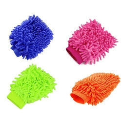 Microfiber Cleaning Hand Gloves
