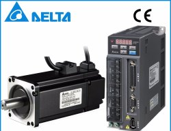 3000RPM Delta Servo Motors, 100w, 220VDC