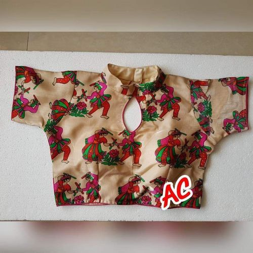 38 Silk Kalamkari Readymade Blouse Pearl Fashion Id 19202486312