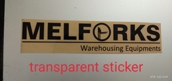Transparent Promotional Stickers