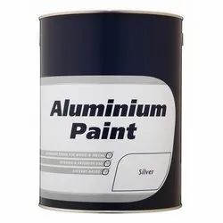 Solvent Based Silver Aluminium Paint, Packaging Type: Tin, Packaging Size: 1L