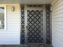 Metal Screen Safety Door