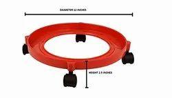 TNC Plastic Gas Cylinder Trolley