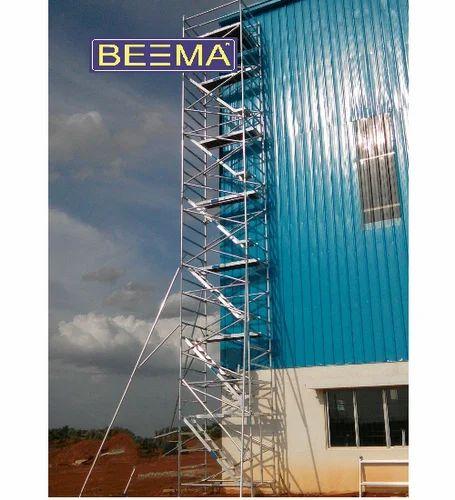 Tower Ladder - Aluminium Tiltable Tower Ladder Manufacturer