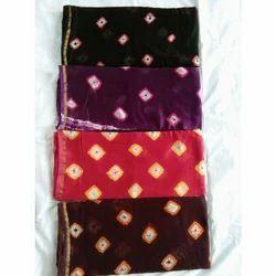 Designer Ethnic Shibori Printed Saree, 6.5 M, With Blouse Piece