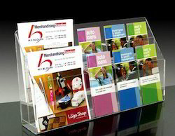 Wall Hanging Multi Pocket Brochure Holder