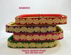Jardoshi Chaab Square Tray