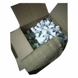Ceramic White LED Bulb Housing, Base Type: B22, Packaging Type: Box