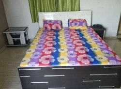 Double Bed 6 5 Size Wenge Colour For Bedroom