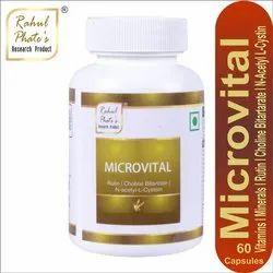 60 Capsules Rahul Phate's Microvital