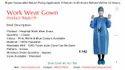 Hospital Work Wear Gown - Kinkob