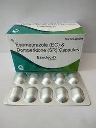 Esodoc-D Allopathic Esomeprazole EC & Domperidone SR Capsules, Healthdoc Labs