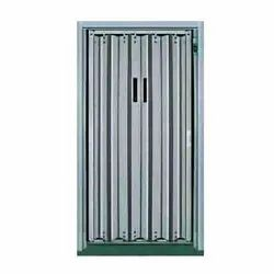 Center Opening Imperforated Elevator Doors