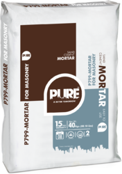 Pure P799 Mortar for Masonry