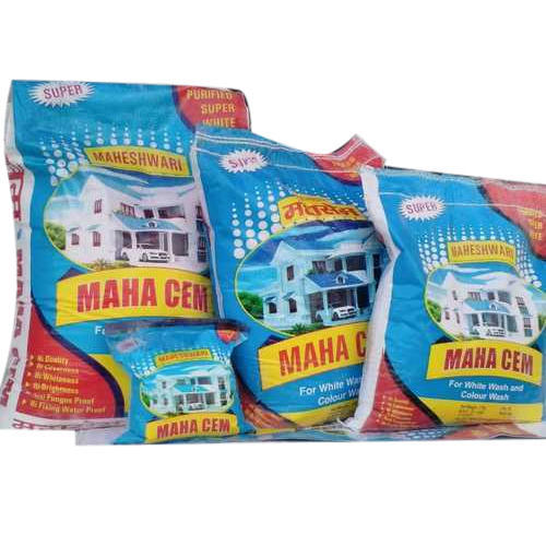 Maha Cem and Maha- cem Hyderated lime, 10 kg and 20 kg