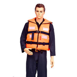 Orange Color Safety Life Jacket