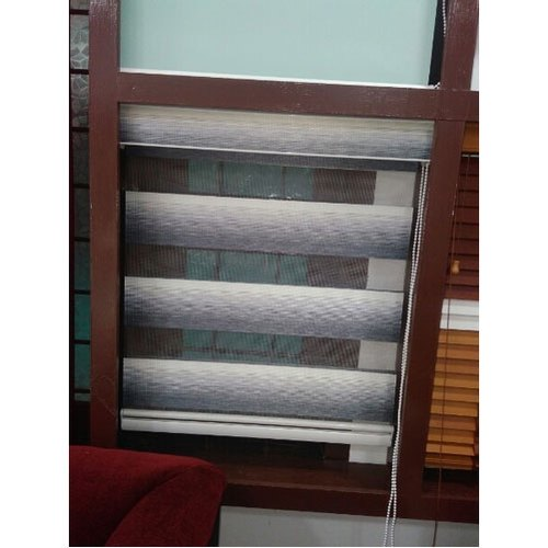 PVC Horizontal Zebra Curtain Blind