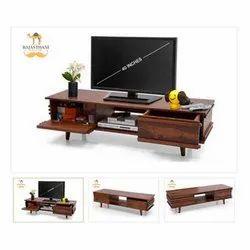 Rajasthani Furniture Boss Sheesham Wooden Tv Cabinet