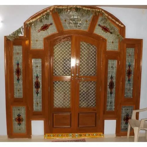 Printed Door Stained Glass