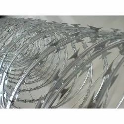 Galvanised Stainless Steel Concertina Coil, For Agricultural