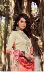 Classic Unstitched Salwar Suits