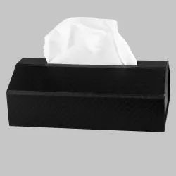 Car Black Tissue Box