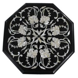 Stone Marble Inlay Plastic Dining Table Top