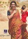 Shangrila Priya Sakhi Frill Pattern Soft Silk Saree